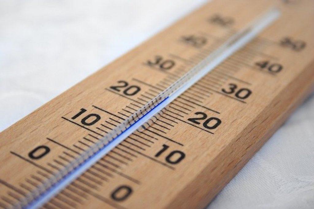 高断熱高気密・温度計
